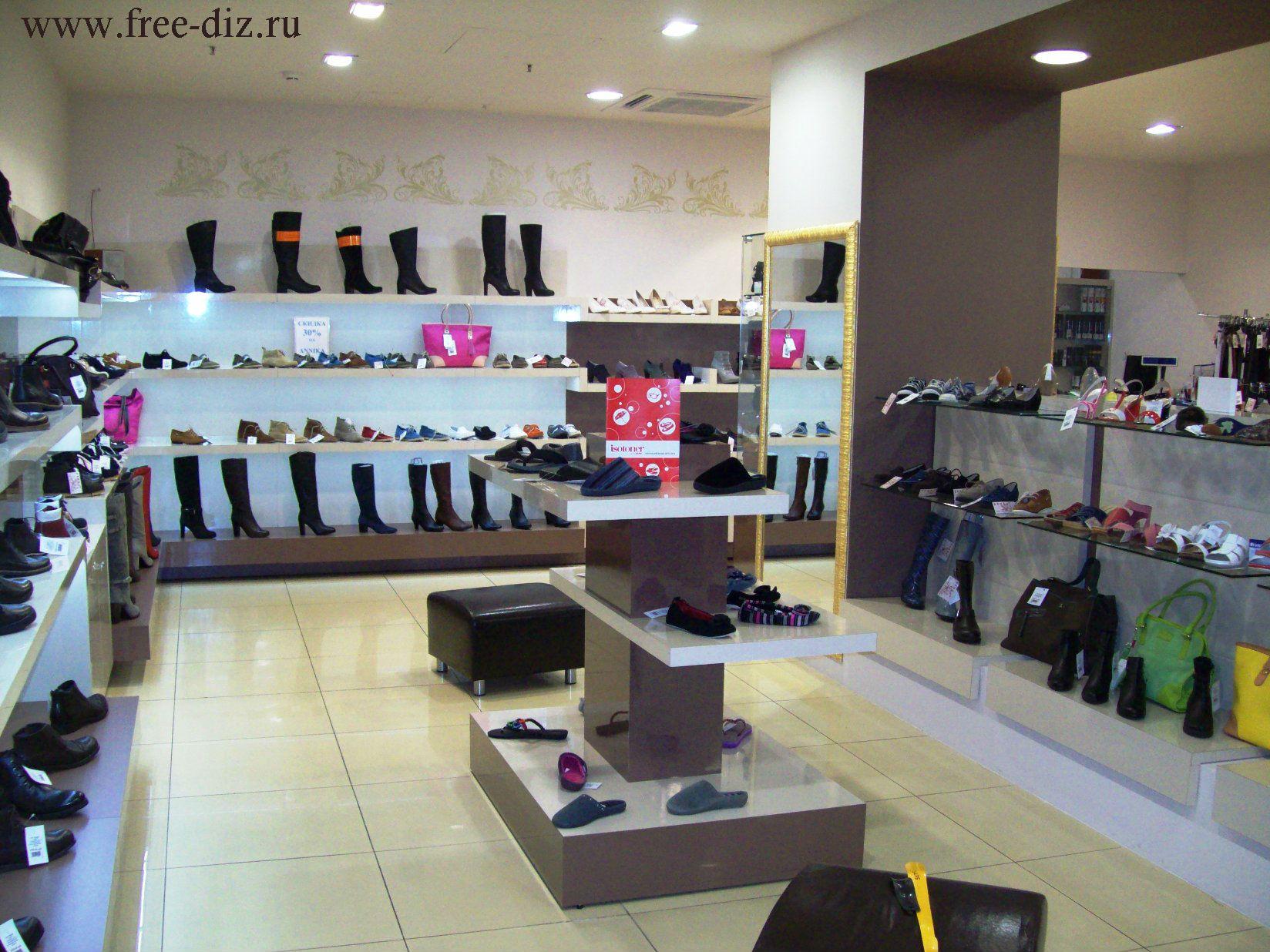 дизайн торгового оборудования для обуви