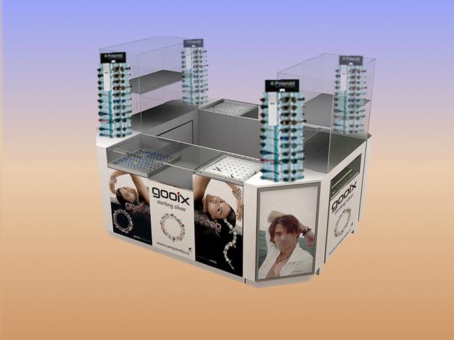 торговый модуль для ювелирных изделий