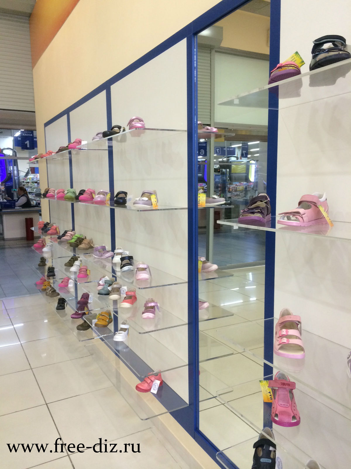 торговое оборудование для обуви