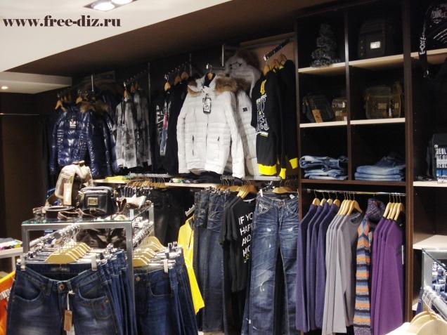торговое оборудование для магазинов одежды