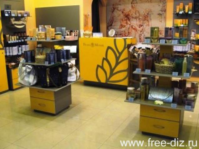 торговое оборудование для магазинов косметики и парфюмерии