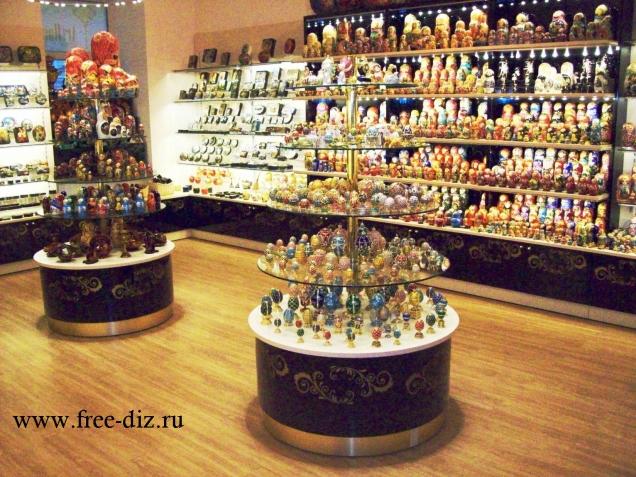 торговое оборудование для подарков и сувениров