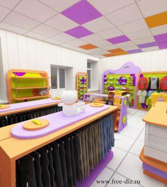 торговое оборудование детского магазина